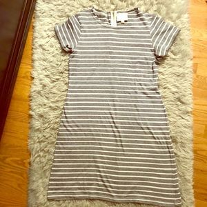 Sail to Sable STS women's sz Large striped dress